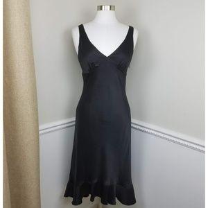 Banana Republic 100% Silk Mermaid V-Neck Dress